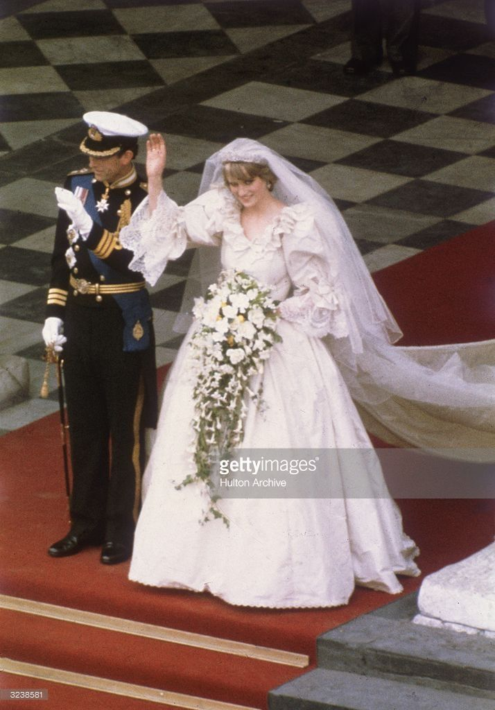 July Lady Diana Spencer Marries Prince Charles At St Paul S Cathedral In London