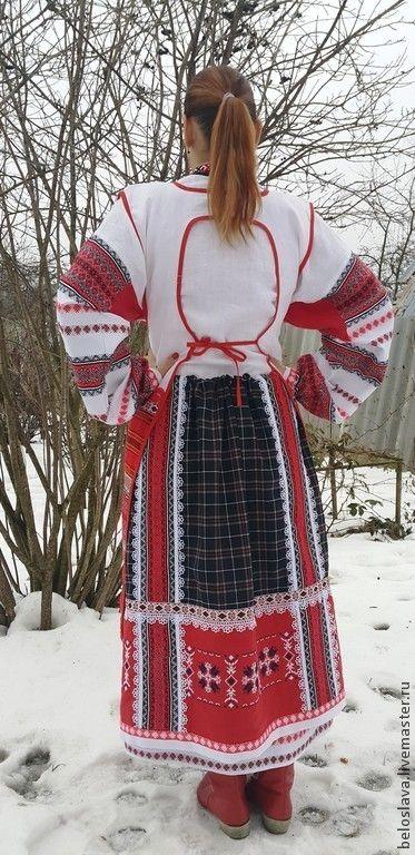 Одежда ручной работы. Ярмарка Мастеров - ручная работа ПОНЕВА РАСПАШНАЯ. Handmade.