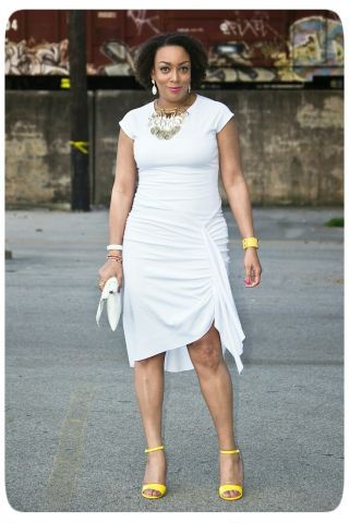 Even though I'm a firm believer in wearing white all-year-round, nothing signifies spring like a LWD! A milky-hued frock is the perfect blank canvas. You can take an optic white...