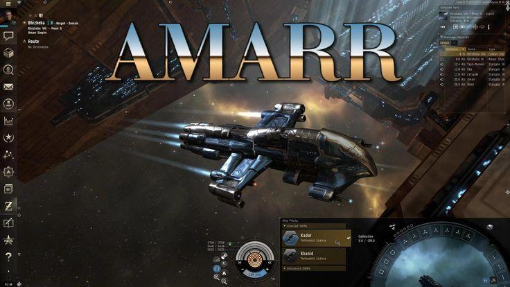 """EVE Online - Personal Log: SHIP """"SKINs"""" SYSTEM - AMARR"""