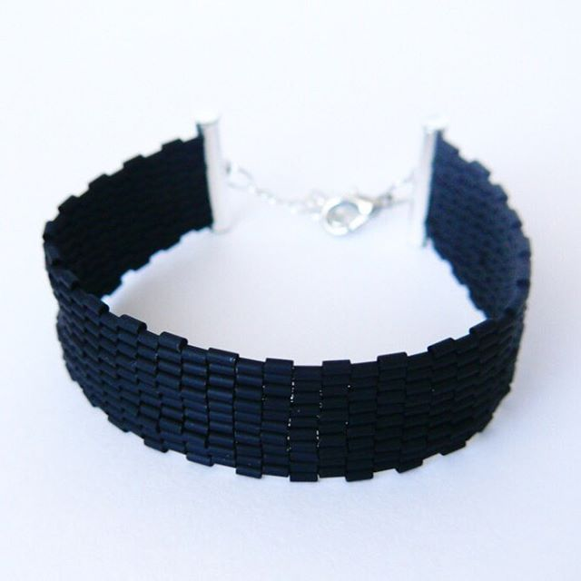 #zkoralików #DIY #beading #bracelet #bransoletka #peyote #peyotebracelet