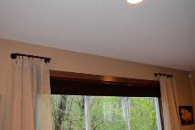 18 inch short curtain rods by NoahEdwardDesigns on Etsy