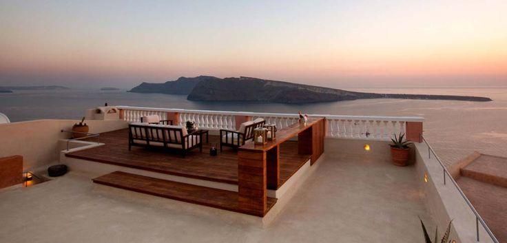 Oia Mansion: A Sea-Captain's House in Oia, Santorini, Greece | Oia Mansion, luxury villa in Santorini, Oia. The best sunset location in Oia Santorini, Greece. www.oiamansion.com
