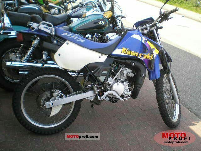Kawasaki kmx125 2001