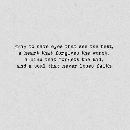pray openly pray faithfully and pray often never underestimate the power of prayer ♥