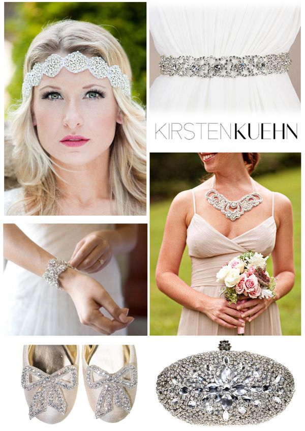 Bridal Accessories from Kirsten Kuehn Designs - featured on theexcitedbride.com: Excited Bride, Theexcitedbride Com, Denver Bridal, Bridal Blog, Kuehn Design, Kirsten Kuehn, Design Ft, Bridal Accessories