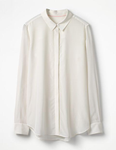 The Silk Shirt WA786 Shirts & Blouses at Boden