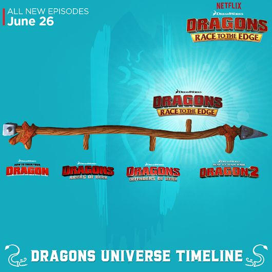 Between How to Train Your Dragon 1 and 2, our riders had to Race To The Edge!  Get ready for the all-new epic DreamWorks Dragons series that reveals the... - DreamWorks Animation - Google+
