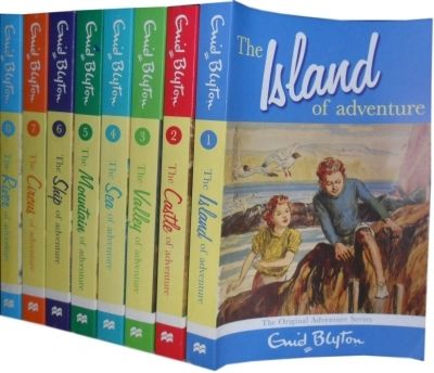 Click here to buy this book.  http://www.bookbundles.co.uk/enid-blyton-adventure-8-books-series-set-island-of-adventure-castle-of-adventure-valley-of-advent-275-p.asp