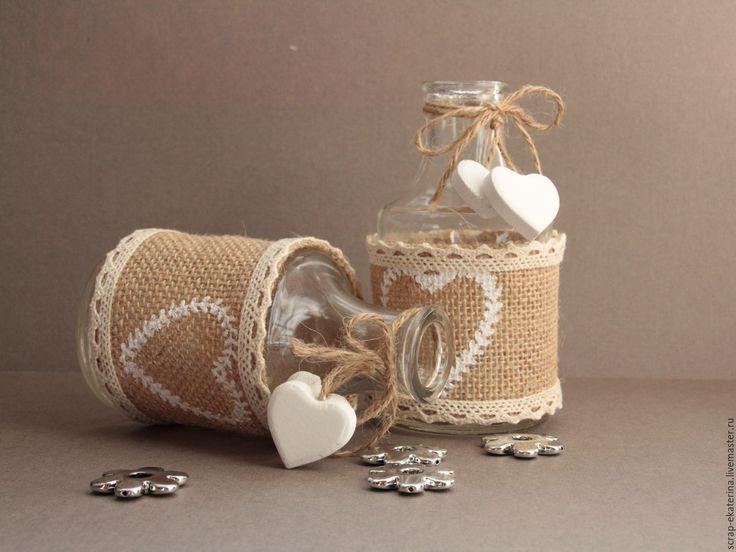 Купить Бутылочка (ваза) - бутылка, для фотосессий, фотосессия, ретро, рустик, интерьер, интерьерное украшение, дизайн