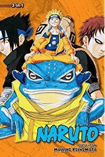 Naruto 4, 5, & 6 - Masashi Kishimorto  Naruto is a young shinobi with an incorrigible knack for mischief. He'is got a wild sense of humor, but Naruto is completely serious about his mission to be the world's greatest ninja!