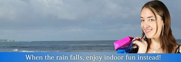 In Barbados September has some of highest rainfall but you're likely to see many days full of sunshine.