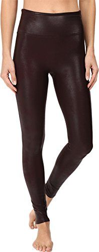 Spanx Women's Ready-to-Wow!¿ Faux Leather Leggings Wine Pants ** Be sure to check out this helpful article. #WomensPants