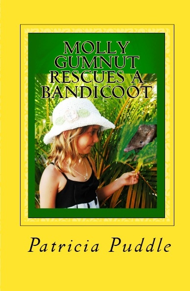 Molly Gumnut Rescues a Bandicoot is suitable for children and adults of all age. An action packed adventure/ comedy about a mischievous nine-year-old who saves and inured bandicoot and wants to keep it as her pet. (Also written for beginner readers)