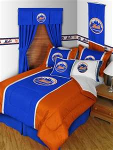 My kids love this! http://www.sportskids.com/superstore/MLB/Mets/Mets+Bedding/g_18140/ [New York City / George L. Rosario is a Realtor with Coldwell Banker Kueber. Together with Lev Shalomayev, they lead the Rosario Shalomayev Group at Coldwell Banker Kueber. They have an unsurpassed passion for Brooklyn, Queens & Manhattan real estate. George is also an avid writer, reader, public speaker, trainer and all around New Yorker]