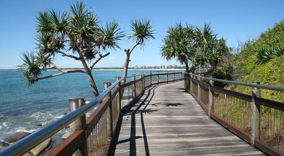 Boardwalk from Bulcock Beach to Kings Beach, Caloundra. #caloundra #sunshinecoast #queensland #monterreridge