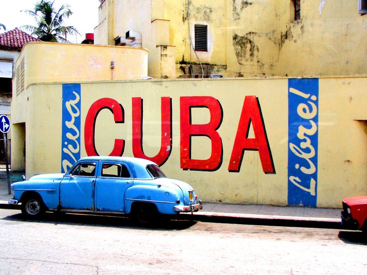 Viva Cuba Libre!! Photo by Andrea Lupos Rumè.