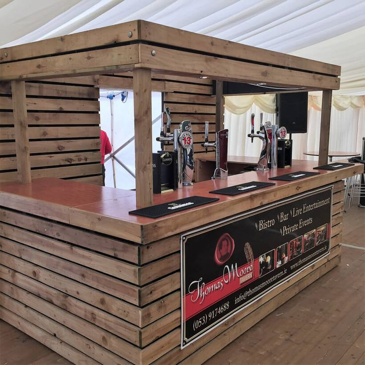 249 best pallet bar images on pinterest wooden pallets for Wooden bar design