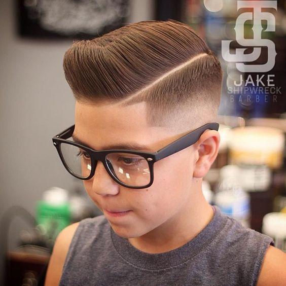 Pompadour Haircut Ideas for Boys!                                                                                                                                                                                 More