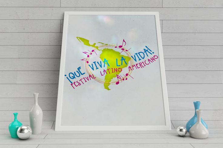 Logo per la manifestazione Que viva la vida! - Festival Latino Americano