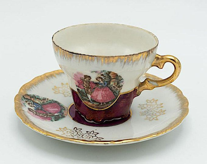 Elizabethan Fine Bone China England Teacup And Saucer Set Etsy Fine Bone China Bone China Tea Cups