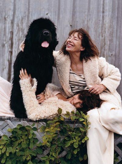 Jane Birkin & Lou Doillon ~ by Bruce Weber