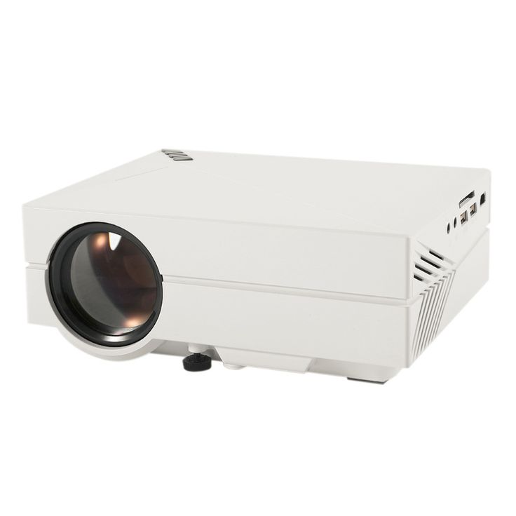 Professional GM60 1000 Lumens Mini LED Projector Cost-efficient High Resolution Dustproof Low Consumption Hot Sale in stock! #Affiliate