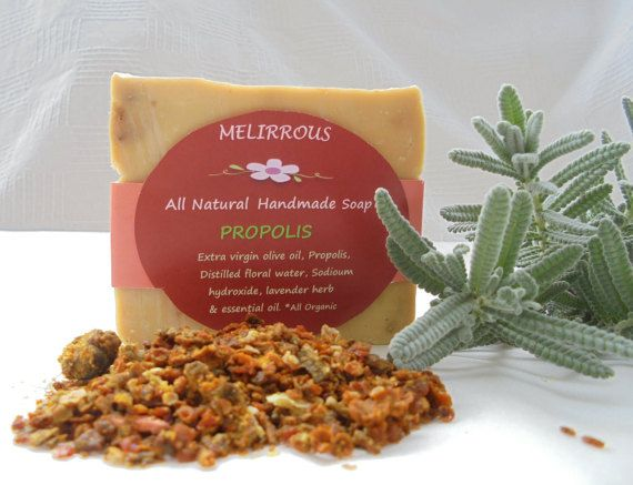 Soap of PropolisExtra Virgin Olive Oil and by MelirrousBees