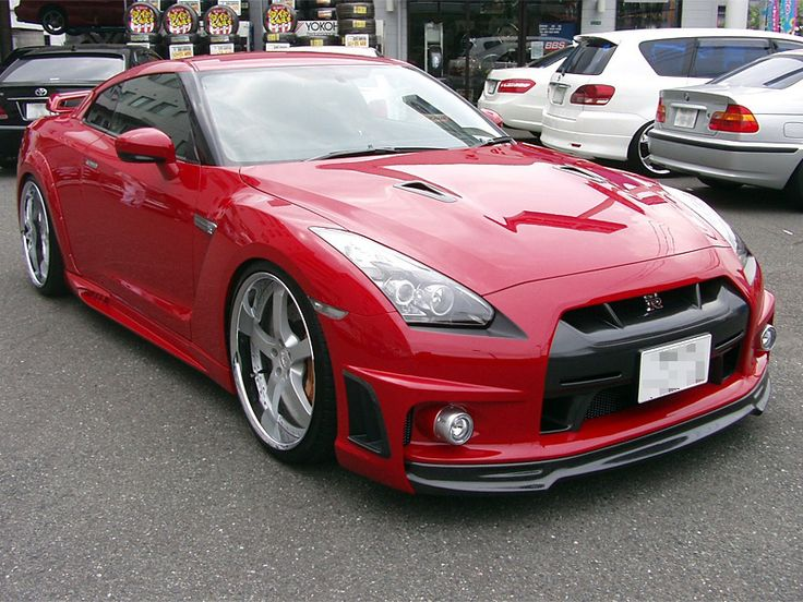 1000 Horsepower Nissan GTR by Wald.....street legal, all-wheel drive, twin turbo, thousands less than a Lambo or Ferrari (or any other supercar for that matter) and kicks EVERYONES azz with no mercy....