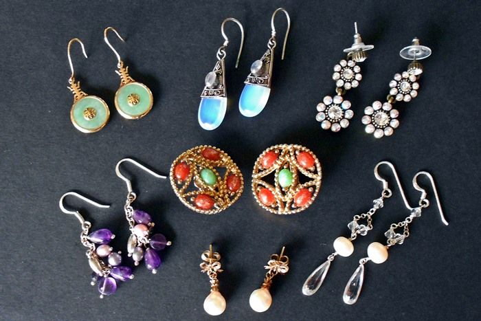 Great tips on how to save money and clean earrings yourself - contains good information on all jewelry, especially about which gemstones can or cannot be safely cleaned in an ultrasonic cleaner, which can or cannot be immersed in water or a soap and water solution. Great tips, interesting read.