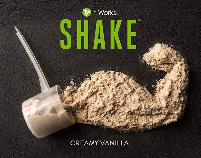 Meet your goals when you energize your workouts, build lean muscle mass , and support your healthy metabolism! That's the power of plant-based protein in It Works! Shake ! #CommitDontQuit #ItWorksFight