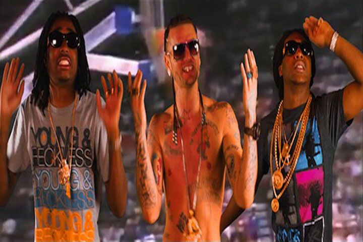 Migos drop off their new video 'Jumpin Out Da Gym (Remix)' featuring Trinidad James & Riff Raff. Directed by Gabriel Hart. Their new project YRN2 is set to drop December 10th.