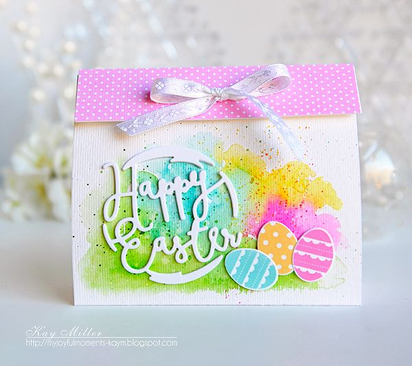 Happy Easter Treat Packaging by Kay Miller for Papertrey Ink (February 2016)