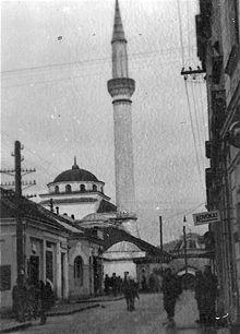 Ferhadija Mosque in Banja Luka (1941)