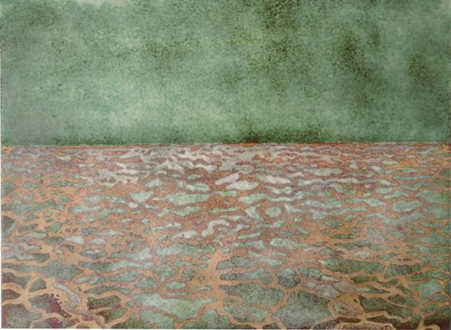 """Gretchen Goss - South Manitou 9"""" x 10"""", 2007"""
