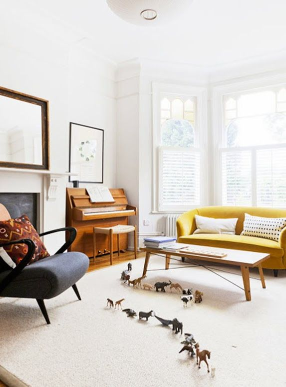 american living room piano - photo #14