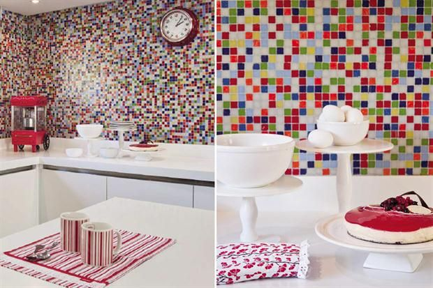 Ideas para decorar tu cocina con color - Living - ESPACIO LIVING