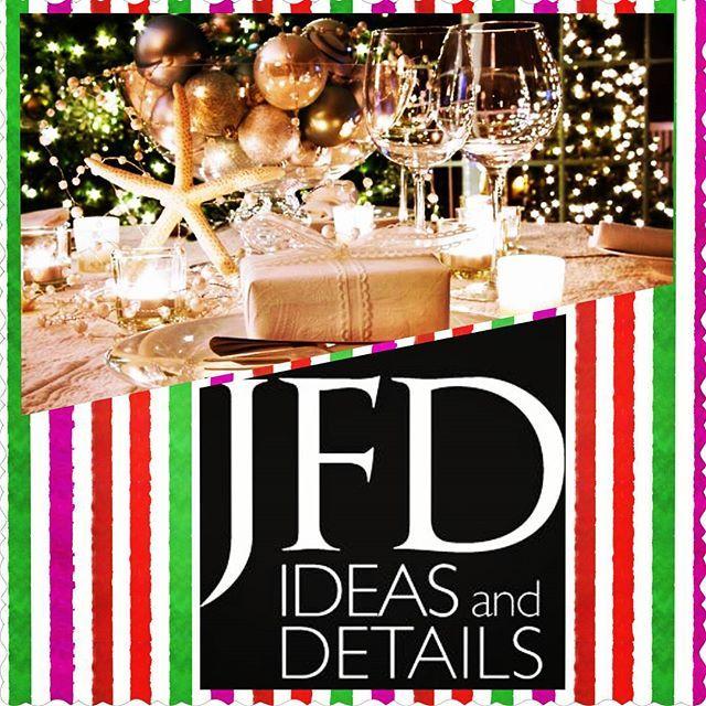 Você ou a sua empresa pensam num evento ou jantar de Natal?  A JFD Ideas and Details poderá ajudar (event planning).... Indique nos a sua ideia e nós apresentamos a nossa sugestão