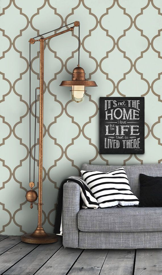 Moroccan Pattern Self Adhesive Vinyl Wallpaper D237 by Livettes, $34.00