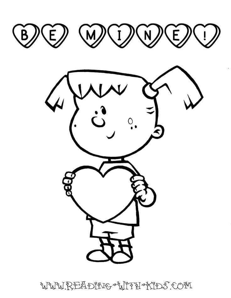 78 best images about valentine 39 s day for Be my valentine coloring pages