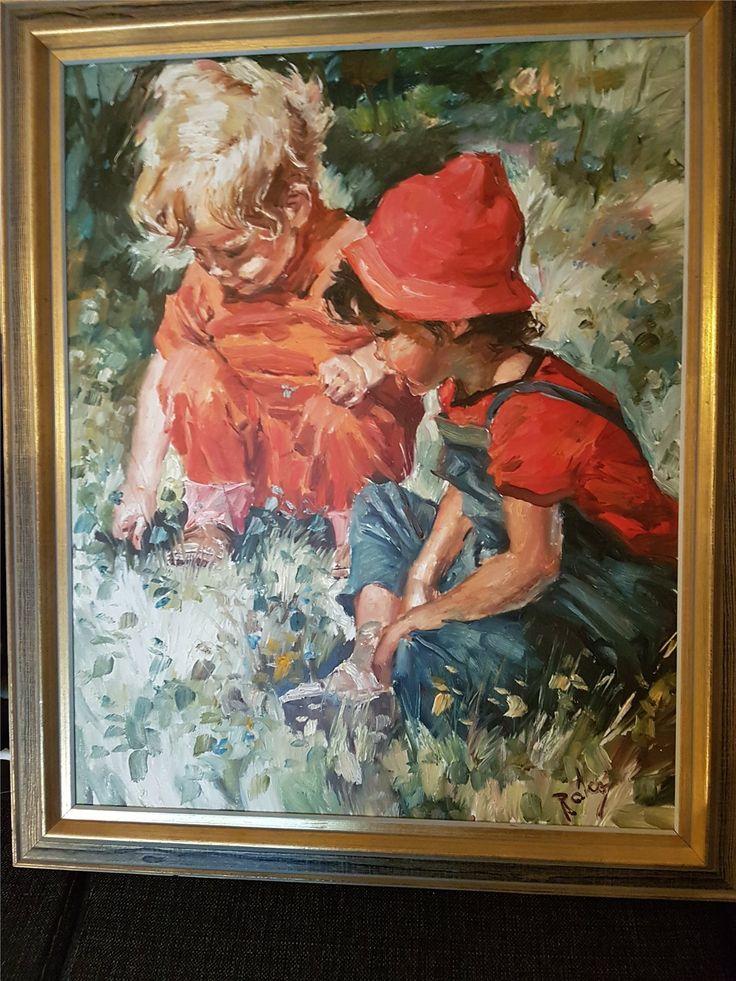 Charles Roka på Tradera.com - Oljemålningar | Måleri | Konst