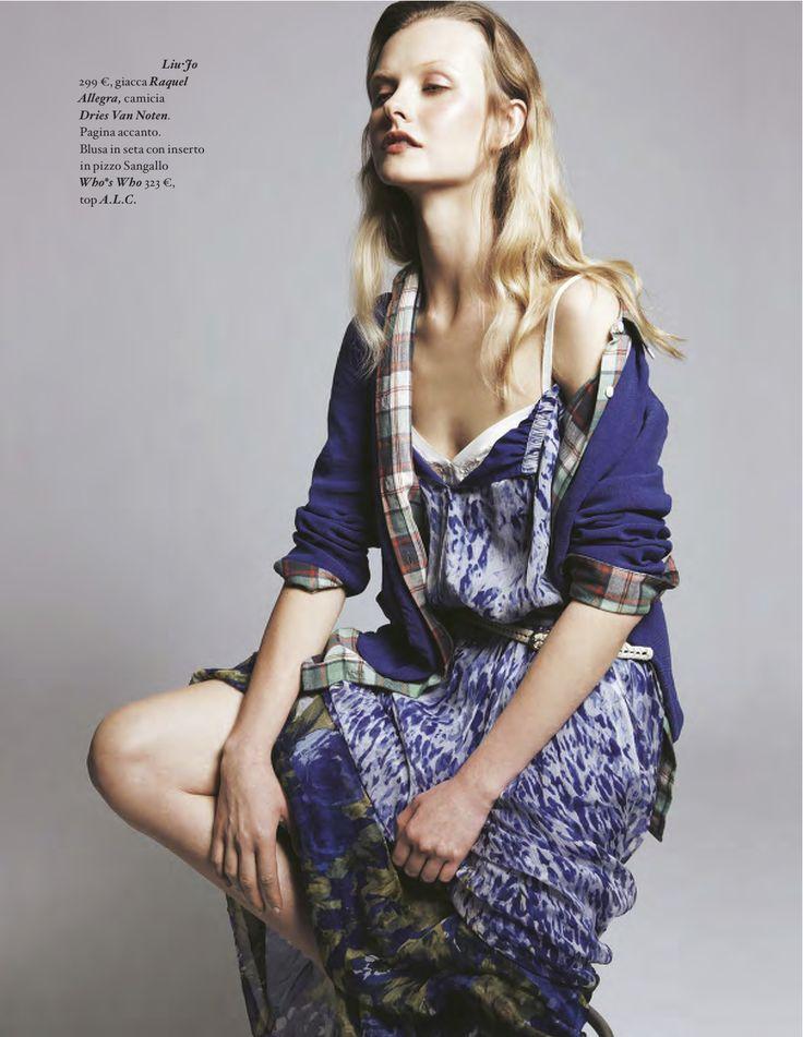 libertà di stampa: kamila filipcikova by amy troost for io donna 29th june 2013 | visual optimism; fashion editorials, shows, campaigns & more!