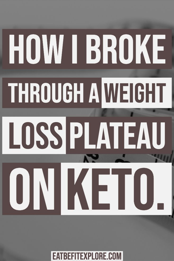 Why i stopped losing weight on keto