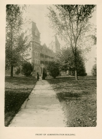 Views In and About Athens Asylum for the Insane, page 15, 1893. :: Ohio University Archives
