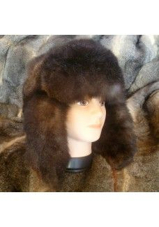 Bush Hat Fur Outside