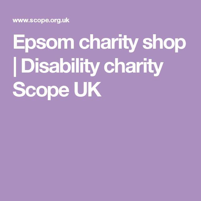 Epsom charity shop   Disability charity Scope UK