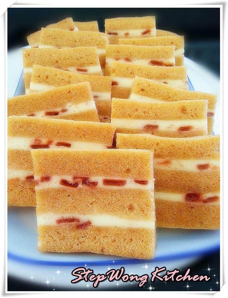 Step Wong Kitchen: 蒸山楂芝士饼干蛋糕
