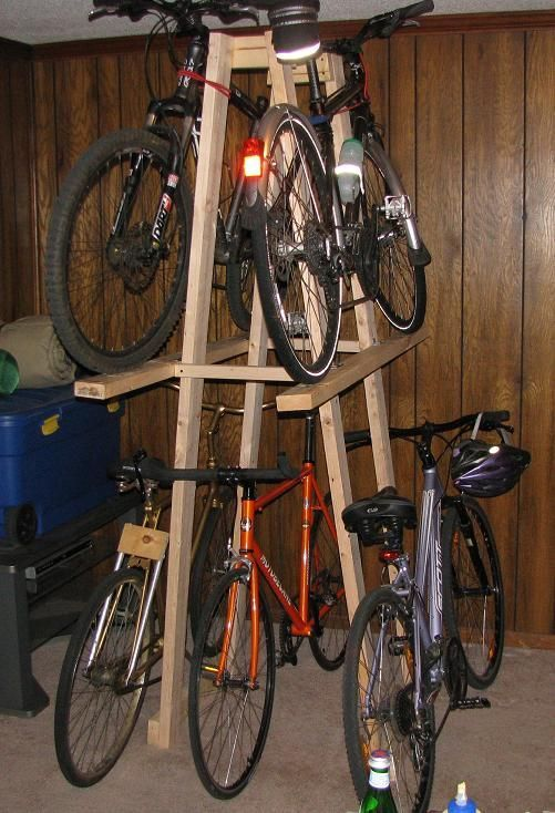 bike rack that holds 5 bikes
