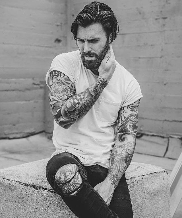 Follow: @5mentariosbeats Follow: @tattoed_love Credit: @levistocke #brave #ink #best #tattoolife #menwithclass #love #beard #beardstyle #beardman #pogonophile #inkedmodel #hot #inkedwoman #beardlove #inked #life #beards #tattoo #swag #inkedboy #amazing #b