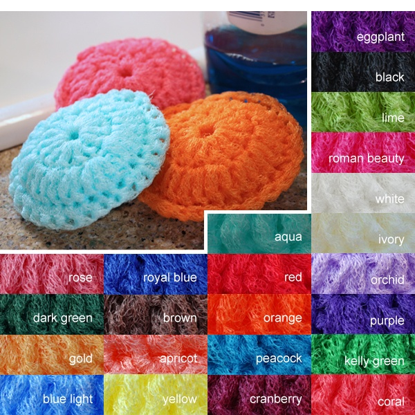 Srubby For Kitchen: How To Make Kitchen Scrubbies
